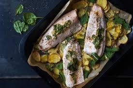 cuisiner truite enti鑽e filets de truite saumonée au four recette fooby ch