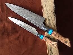 handmade kitchen knives for sale handmade steel kitchen custom chef knives in houston tx