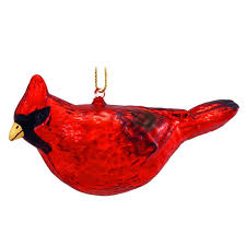 glass cardinal ornament 1152890 baubles n bling