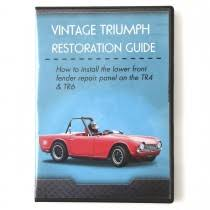 Tr6 Interior Installation Repair Videos Books U0026 Videos Triumph Tr6 250 Moss Motors