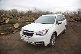subaru forester red 2017 2017 subaru forester limited review autoguide com news