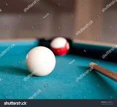 Two Balls Cue Billiards Stock Shutterstock