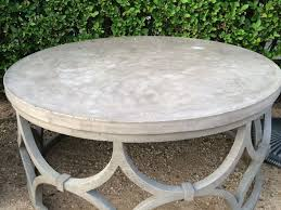 Round Patio Coffee Table Outdoor Furniture Exterior Stunning Image Of Outdoor Patio