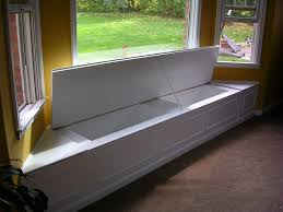 home improvement with bay windows storage benches display