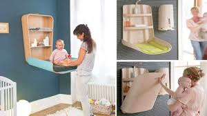 Folding Baby Change Table When The Family Grows And The Apartment Doesn U0027t