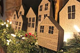 christmas wood houses archives a purdy little house