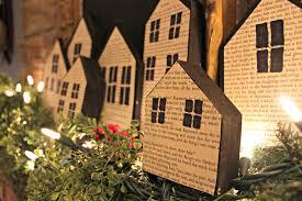 little house christmas wood block houses a purdy little house