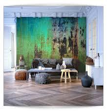 Schlafzimmer Fototapete Vlies Fototapete 3d Muster Steinwand Grün Tapete Tapeten