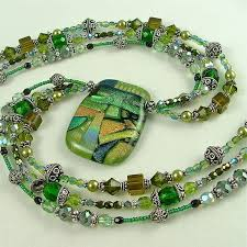 beaded jewelry necklace images 56 designs for beaded necklaces making jewelrycom malachite bead jpg