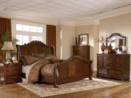 Rustic Bedroom Furniture Sets King Furniture Warm Rustic Beauty Of Ashley Furniture Porter