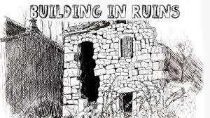 how to draw a ruin in pen and ink u2014 online art lessons