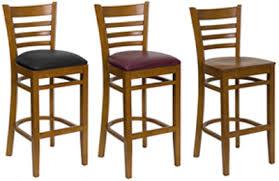 Ladder Back Bar Stool Commercial Bar Stools For Nightclubs Restaurants Offices Usa