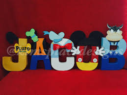 mickey mouse clubhouse letters paper mache letters mickey mouse