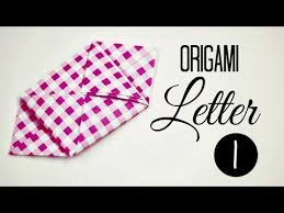 how to fold a letter 01 youtube