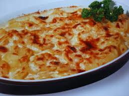 recette de cuisine a base de pomme de terre gratin de pommes de terre moëlleux cuisson basse température