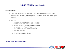 Light Headed Short Of Breath Special Circumstances Workshop Anaphylaxis By The End Of This