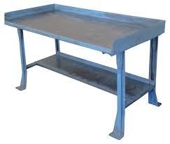 Work Table Desk Steel Work Bench Treenovation
