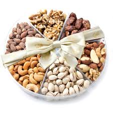 fruit and nut gift baskets nut tray gift baskets at cheap bulk prices oh nuts oh nuts