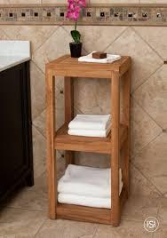 Bathroom Cabinet Shelf by Bathroom Comfortable Soft Towel Shelves With Unique Design For