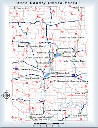Wisconsin County Maps by Public Works Facilities U0026 Parks Division Dunn County Wi