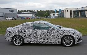 first audi ever made first spy photos of 2017 audi a5 coupe show wider sexier design