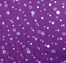 purple tulle tulle silver hologram sequin purple showtime fabrics