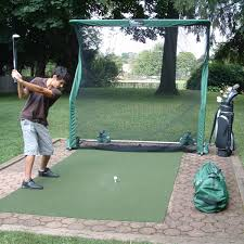 Golf Driving Nets Backyard by Net Return Pro Continuous Practice Golf Trainer The Green Head