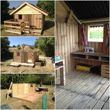 25 ideas to recycle pallets in kids pallet playhouses huts