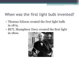 who made the light bulb light bulbs