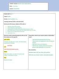 letter l lesson plan reading comprehension educational