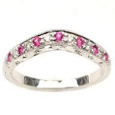 nj wedding bands oxford diamond co 21ct e vs pink sapphire cut diamond