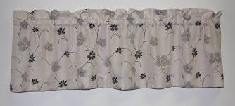 zoe floral crushed taffeta fabric valance window curtain window