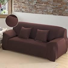 one piece stretch sofa slipcover amazon com cherry juilt stretch sofa cover 1 piece spandex non slip