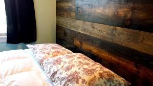 rustic wood minimalist bed frame twin full queen king also