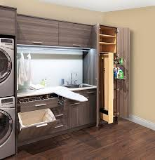 ironing board closet cabinet a stacking washer and dryer are great for smaller spaces and make