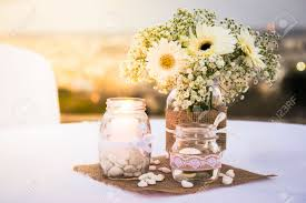 table decorations with candles and flowers pretty white wedding table decorations with flowers candles