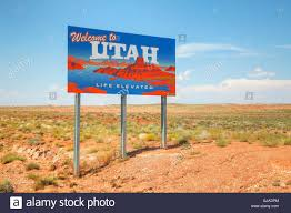 Utah Road Map by Utah State Map Stock Photos U0026 Utah State Map Stock Images Alamy