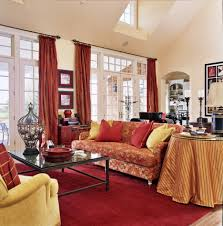 red rugs for living room hip to be square warm up a room brown