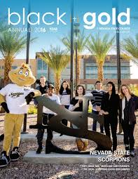 nevada state college black u0026 gold annual 2016 by smudge pot