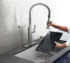 fix kohler kitchen faucet faucet design kohler kitchen faucet leaking from spout repairing