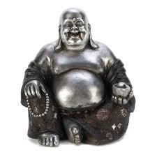 Buddha Statues Home Decor by Happy Sitting Buddha Statue