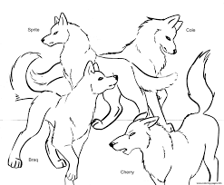 wolf coloring pages free printable printable of wolf coloring
