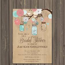 jar bridal shower invitations jar invitation jar bridal shower invitation rustic