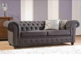 canap chesterfield tissu liverpool 3 places en mobilier moss 4