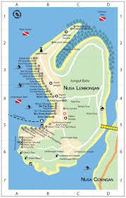 Bali Indonesia Map Lembongan Map From Http Www Gili Blog Com Map Of Lembongan