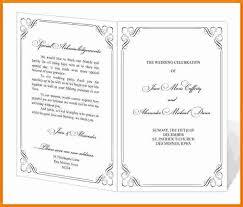 wedding church program templates 8 event program template cashier resume