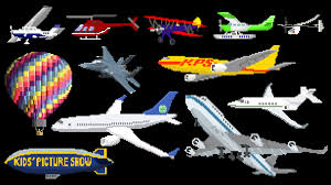 aircraft airplanes aeroplanes u0026 air vehicles the kids