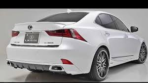 lexus is250 f sport front lip 2014 lexus is f sport body kit from lx mode youtube
