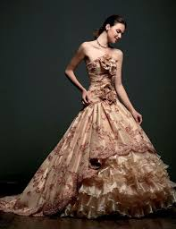 brown wedding dresses 12 best gorgeous wedding dresses images on wedding