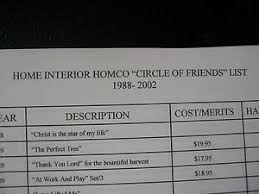 homco home interiors catalog home interiors gifts homco circle of friends figurine coll